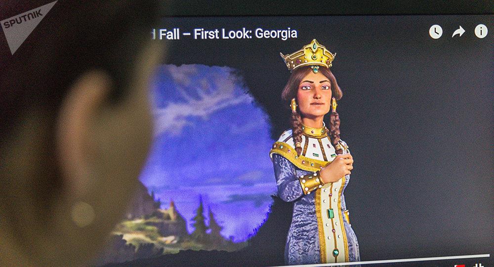 Царица Тамара возглавляет Грузию вCivilizationVI Rise and Fall