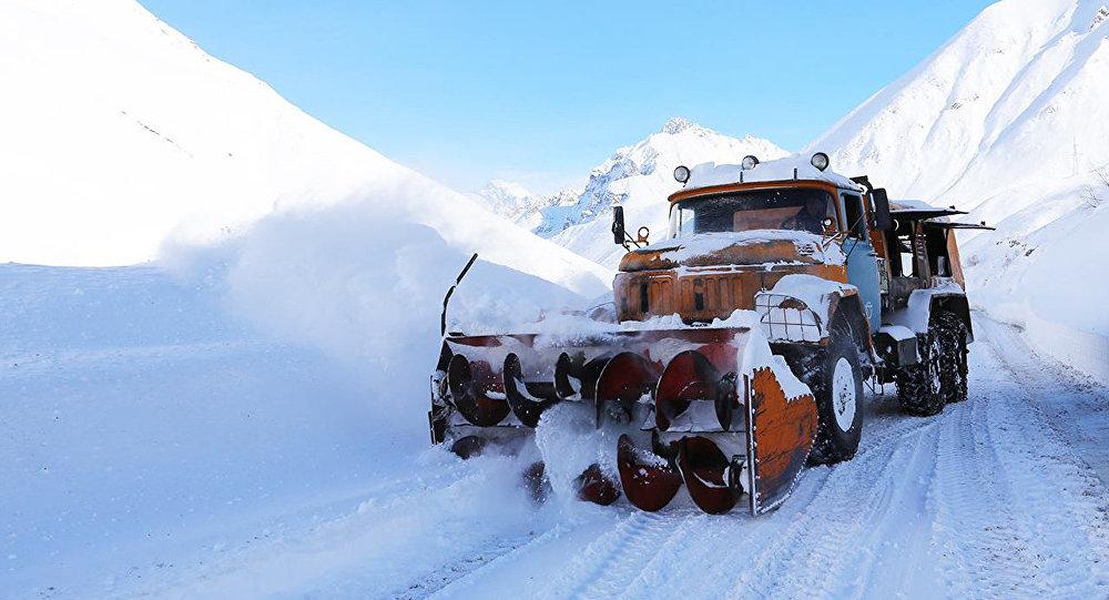 გზის გაწმენდა თოვლისგან