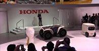 Компания Хонда представила серию роботов 3E