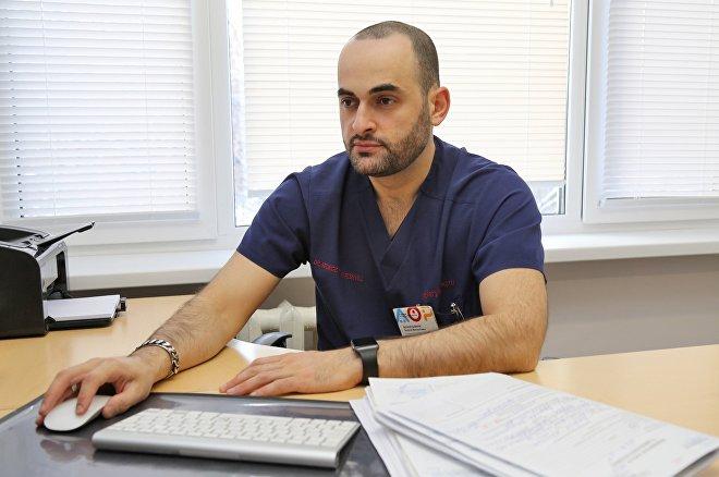 Врач Георгий Бочоришвили