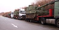 В Германии остановили конвой с американскими гаубицами