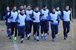 Тренировка футбольного клуба Динамо Тбилиси