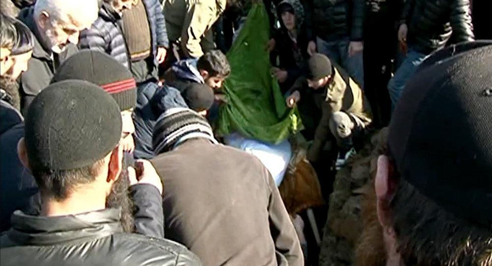 Похороны Темирлана Мачаликашвили в Панкисском ущелье