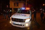 Сотрудники полиции в ходе операции по устранению беспорядков на улицах Батуми