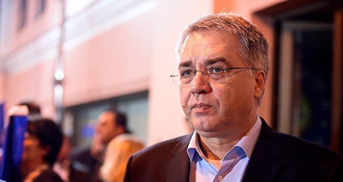 Министр труда, здравоохранения и социальной защиты Грузии Давид Сергеенко