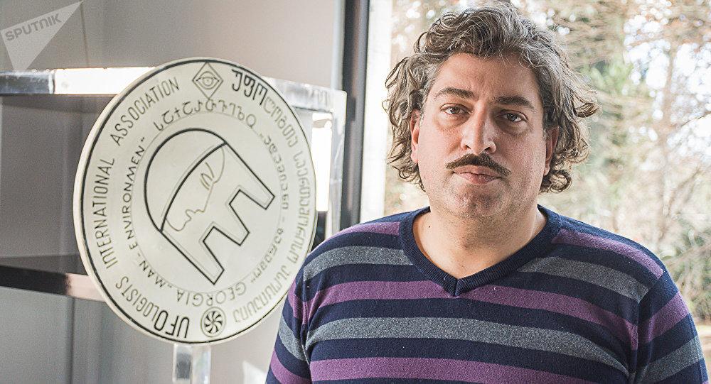 Грузинский уфолог Ираклий Шония