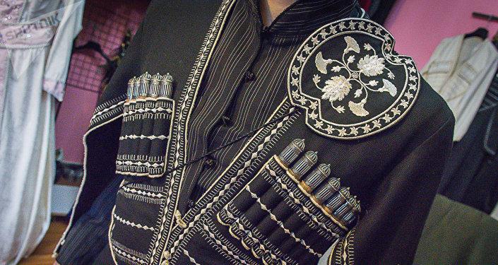 Грузинский национальный костюм чоха