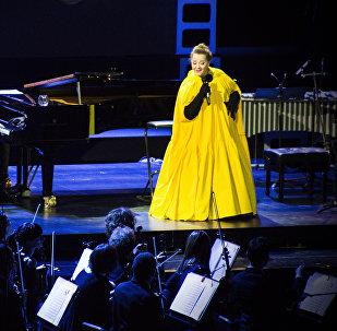ნინო ქათამაძემ შეასრულა სიმღერები ფილმიდან ვერის უბნის მელოდიები