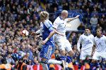 Матч между футбольными клубами Челси и Лестер, архивное фото