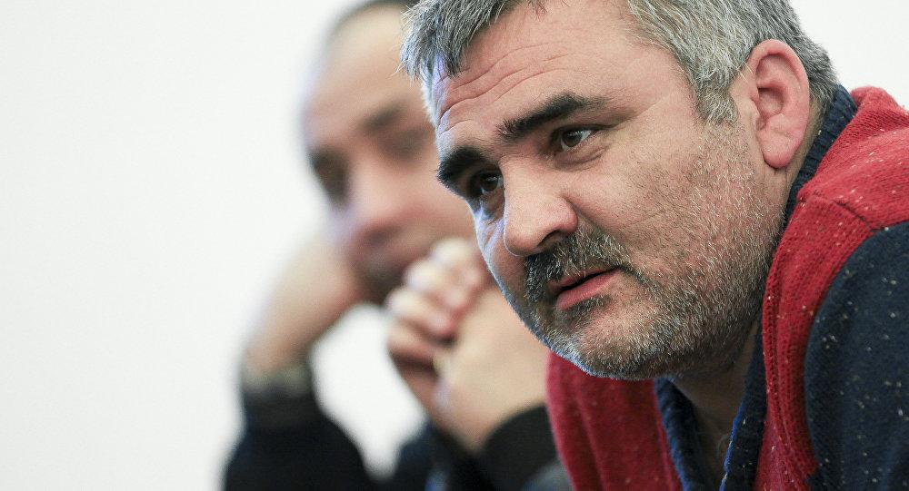 Азербайджанский журналист Афган Мухтарлы, архивное фото