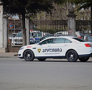 პოლიციის მანქანა