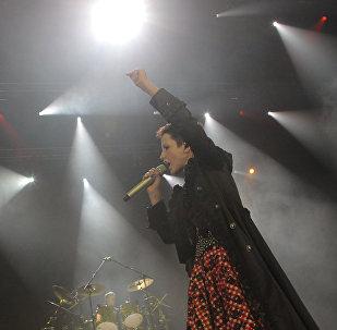 Концерт ирландской группы The Cranberries в ГЦКЗ Россия в Лужниках