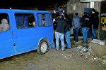 Полиция работает на месте убийства в Рустави директора Стамбульского рынка Самсона Кутателадзе