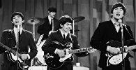 Группа Beatles на концерте в Нью-Йорке