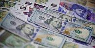100-დოლარიანი და 100-ლარიანი კუპიურები