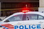 Сотрудники американской полиции, архивное фото