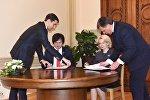 Главы парламентов Грузии и Латвии подписали меморандум о стратегическом партнерстве
