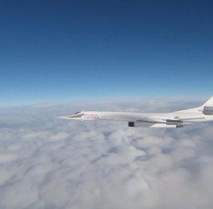 Истребители ВВС Великобритании сопровождали российские Ту-160