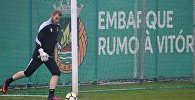 Голкипер сборной Грузии по футболу Георгий Макаридзе перешел в португальский клуб Риу Аве