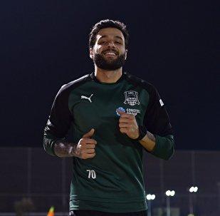 Полузащитник сборной Грузии по футболу Торнике Окриашвили