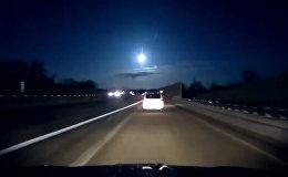 В Мичигане засняли падение метеорита