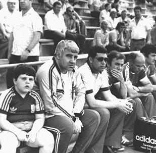 Тренер Нодар Парсаданович Ахалкаци