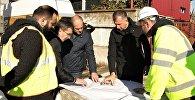 Глава правительства Аджарии Зураб Патарадзе ознакомился с процессом подготовки к строительству спортивного комплекса в Батуми