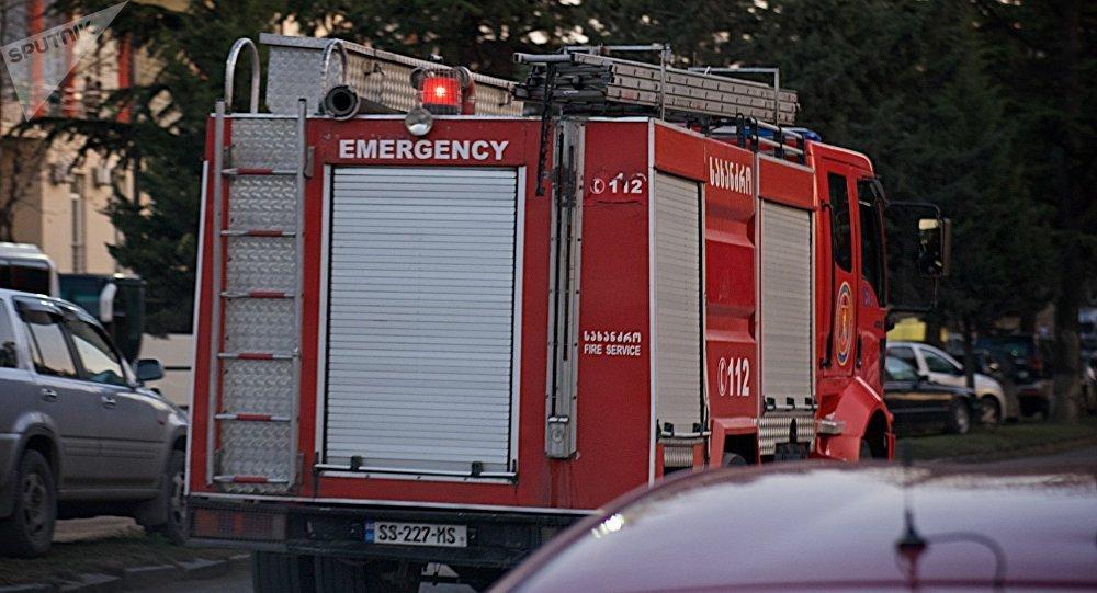 Машина пожарно-спасательной службы