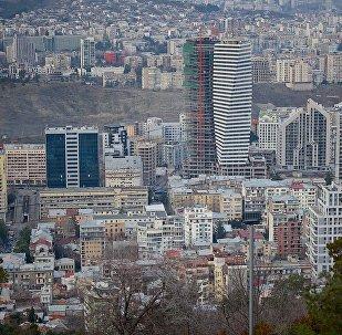 Строительство новых зданий в Тбилиси