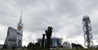 Пасмурная погода в городе Батуми