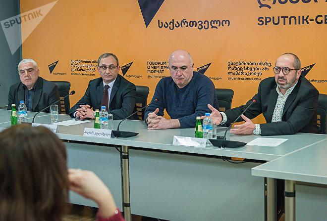 Круглый стол: Грузинский медиа - проблемы и перспективы