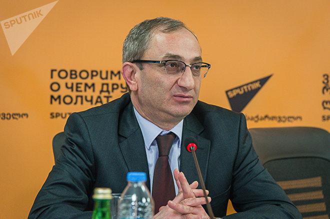 Главный редактор ТВ Объектив Бондо Мдзинарашвили