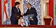 Главы парламентов Грузии и Узбекистана подписали меморандум