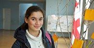 Участница проекта Ты супер! Нана Вардзелашвили в своей школе
