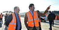 Мэр столицы Каха Каладзе решает вопрос по уборке мусора на территории Лило