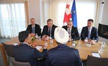 Премьер Грузии Георгий Квирикашвили на встрече с потенциальными инвесторами