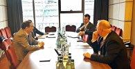 Встреча министра образования и науки Грузии Михаила Чхенкели с представителями HP