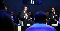 Премьер-министр Грузии Георгий Квирикашвили на Всемирном экономическом форуме в Давосе