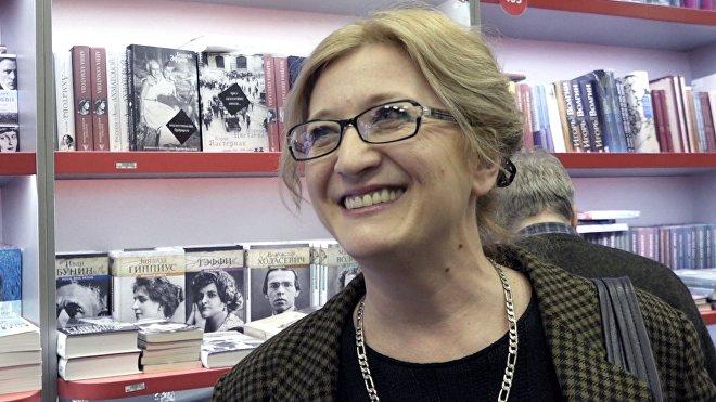 Автор книги Высоцкий в Грузии Нина Шадури-Зардалишвили