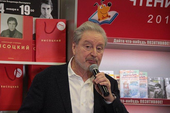 Актер театра на Таганке Вениамин Смехов