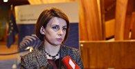 Вице-спикер парламента Грузии Тамара Чугошвили