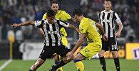 Матч между футбольными клубами Juventus и Chievo в рамках чемпионата Италии