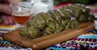 Вкусные рецепты: как приготовить толму из виноградных листьев