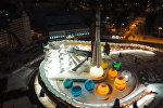 Как выглядит самая высокая тюбинговая горка в Москве: кадры с дрона
