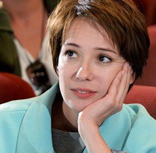 Народная артистка Российской Федерации Чулпан Хаматова