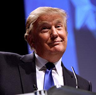 აშშ-ის პრეზიდენტი დონალდ ტრამპი