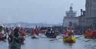 Тысячи лодок: как прошел красочный водный парад в Венеции