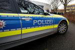 Машина немецкой полиции