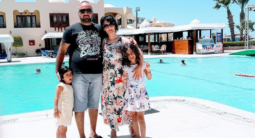 ია ჯინჭარაძე ოჯახთან ერთად