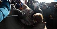 """Обрушение потолка на станции метро """"Варкетили"""""""